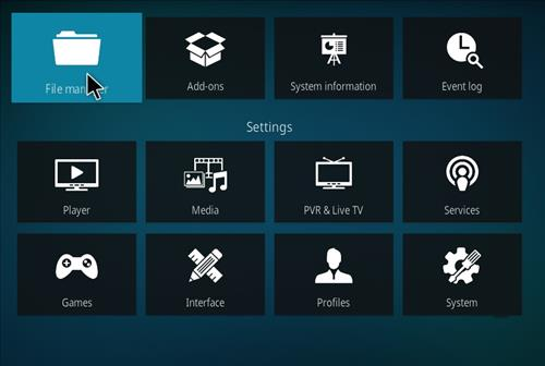 How to Install Cellar Door TV Kodi 18 Build Leia step 2