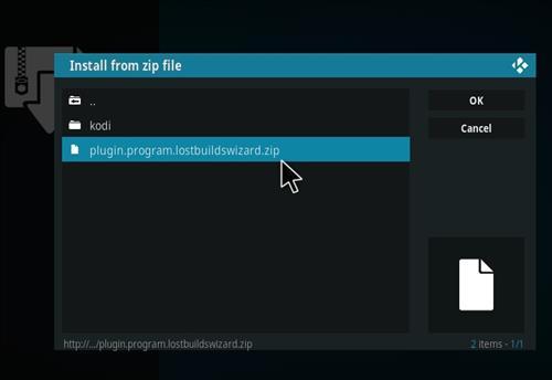 How to Install Mammoth Kodi 18 Build Leia step 12