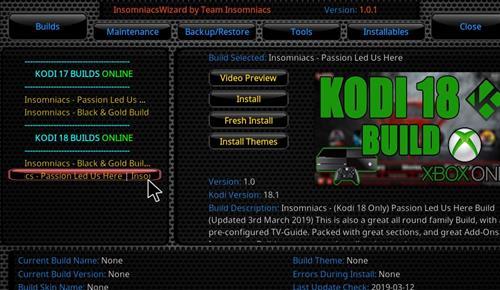 How to Install Passion Led us Here Kodi 18 Build Leia step 23