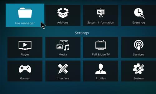 How to Install Teslax18 Kodi Build 18 Leia step 2