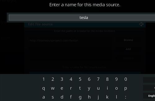 How to Install Teslax18 Kodi Build 18 Leia step 6