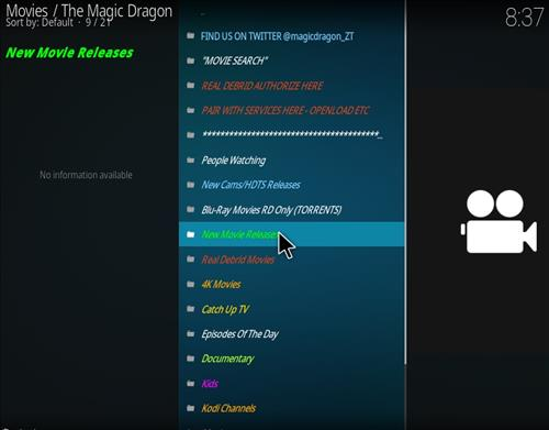 How to Install The Magic Dragon Add-on for Kodi 18 Leia pic 2