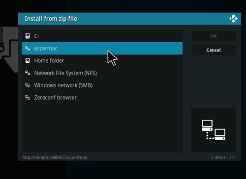 How to Install Black Widow Kodi 18 Build Leia step 11