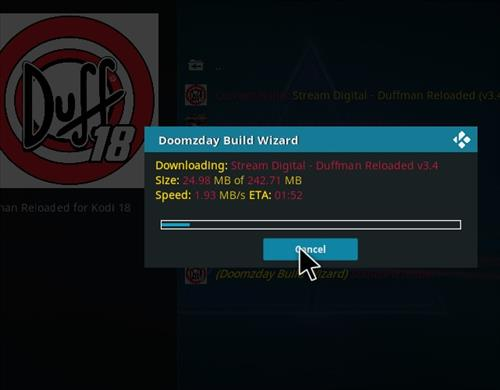 How to Install Duffman Reloaded Kodi 18 Build Leia step 20