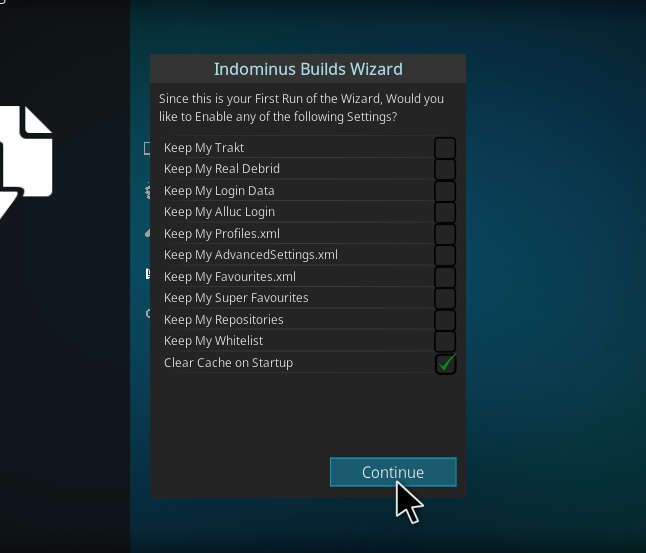 How to Install Fury- X 18 Kodi Build Leia step 14