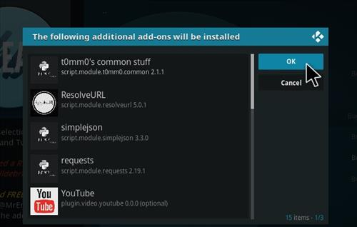 How to Install Release BB Kodi 18 Leia Add-on step 19