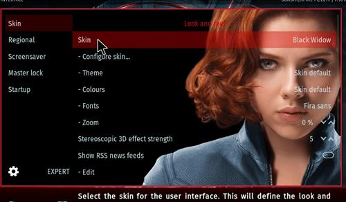 How to change the Skin back to Default Estuary black widow step 3
