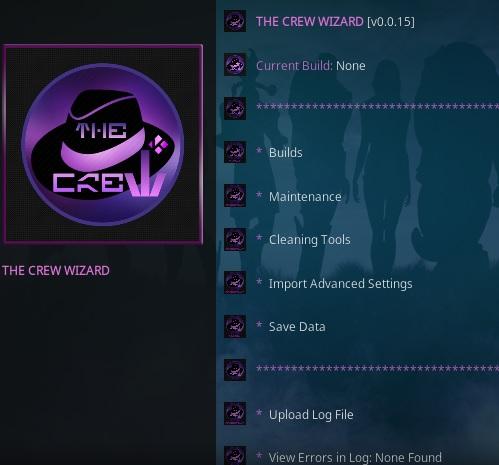 How To Install The Crew Wizard Kodi Overivew