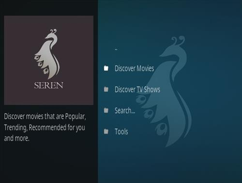 How to Install Seren Kodi Add-on with Screenshots Overview