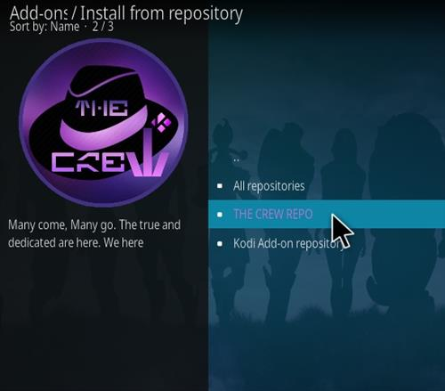 How To Install The Crew Sports Kodi 19 Matrix Addon Step 16