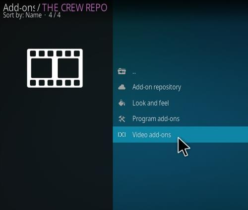 How To Install The Crew Sports Kodi 19 Matrix Addon Step 17