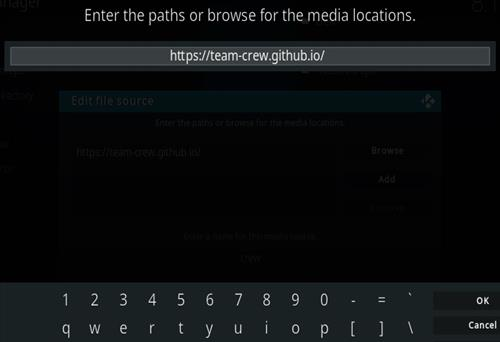 How To Install The Crew Sports Kodi 19 Matrix Addon Step 5