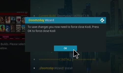 How to Install Doomzday BK 19 Kodi 19 Matrix Build Step 29