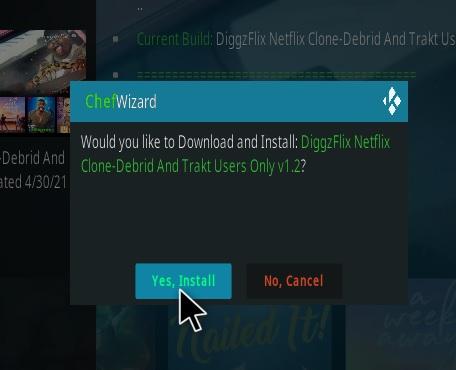How To Install DiggzFlix Netflix Clone Build Kodi 19 Matrix Step 27