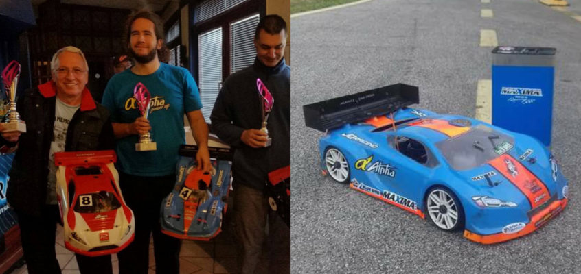 Denis Mlivić Wins Croatian National 1:8 GT Championship with his GT-converted JQ car
