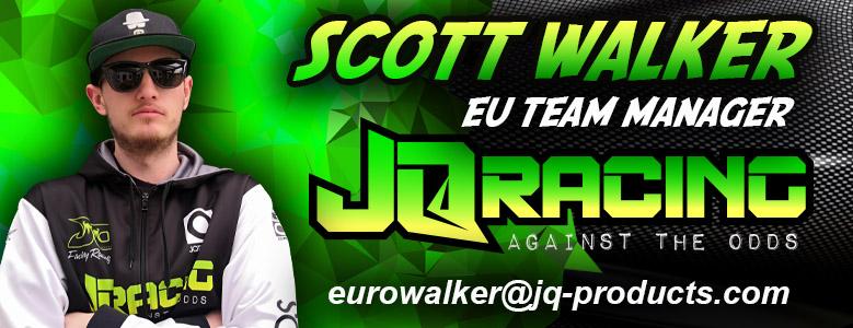 Scott Walker Appointed JQRacing Europe Team Manager