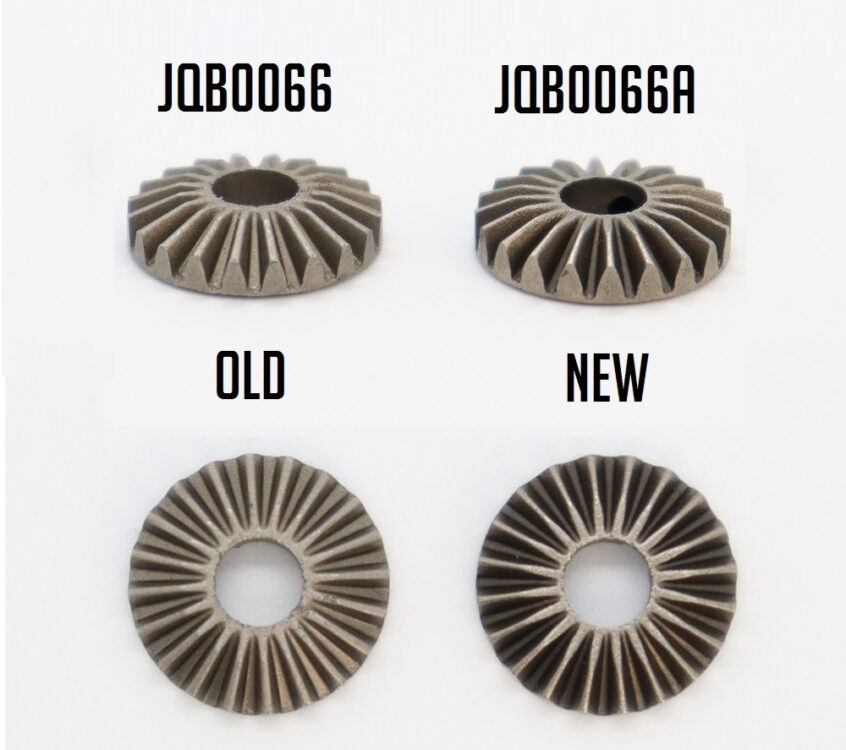 Updated Internal Diff Gears JQB0066A