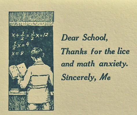 Lice card.