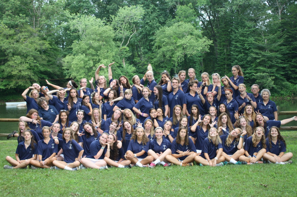 Camp Alleghany Staff 2015 Goofing Off