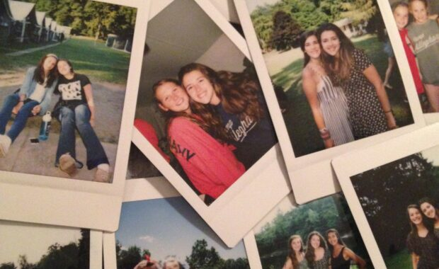Camp Polaroids