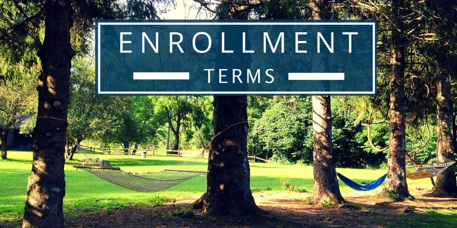 Term so f Camp Alleghany Enrollment