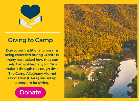 giving to Camp Alleghany