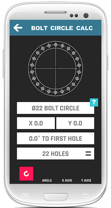 Bolt Hole Calculator