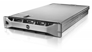 Dell PowerEdge R715 server featured on a white background.