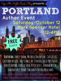 Portland Author Event logo