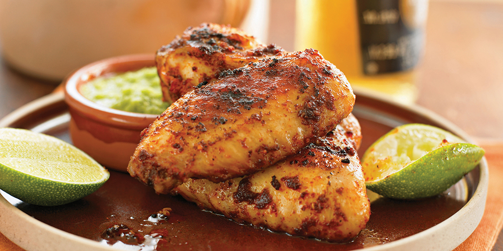 Grilled Chili Chicken Breasts