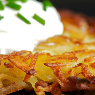 Latke Recipe (Jewish Holiday Hanukah)