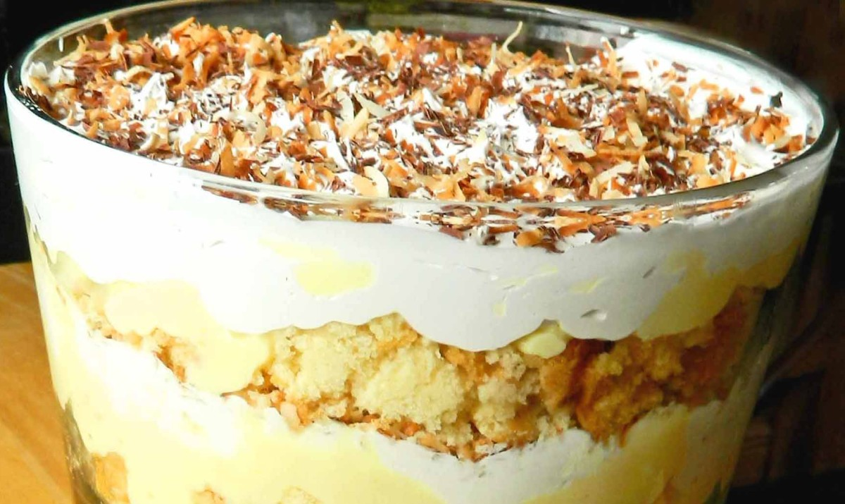 Coconut Cream Pie Trifle