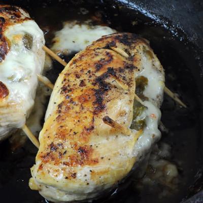 Breast of Chicken Chili Relleno