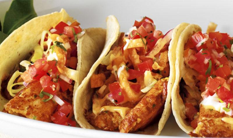 Cajun Blackened Fish Tacos