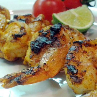 Tangy and Spicy Grilled Shrimp Skewers