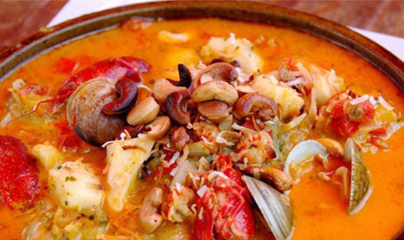 Brazilian Bahia Moqueca Fish Stew