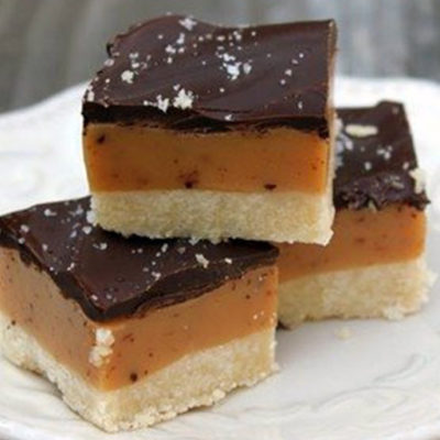 Millionaire Shortbread Caramel Chocolate Bar Cookie