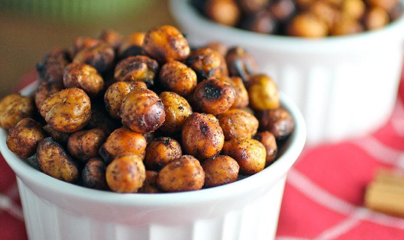 Roasted Chickpeas (aka Garbanzo Beans)