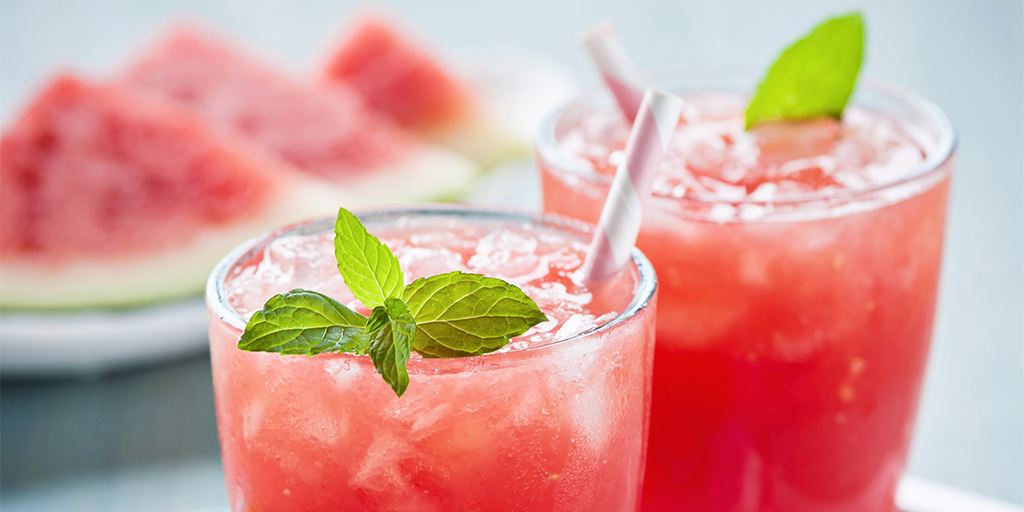 Watermelon Wine Spritzer