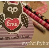 Valentine's Day Pencil Topper