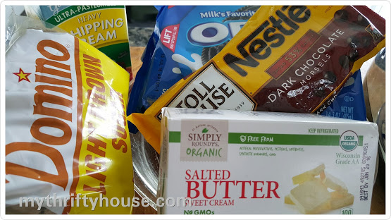 salted caramel chocolate pie ingredients