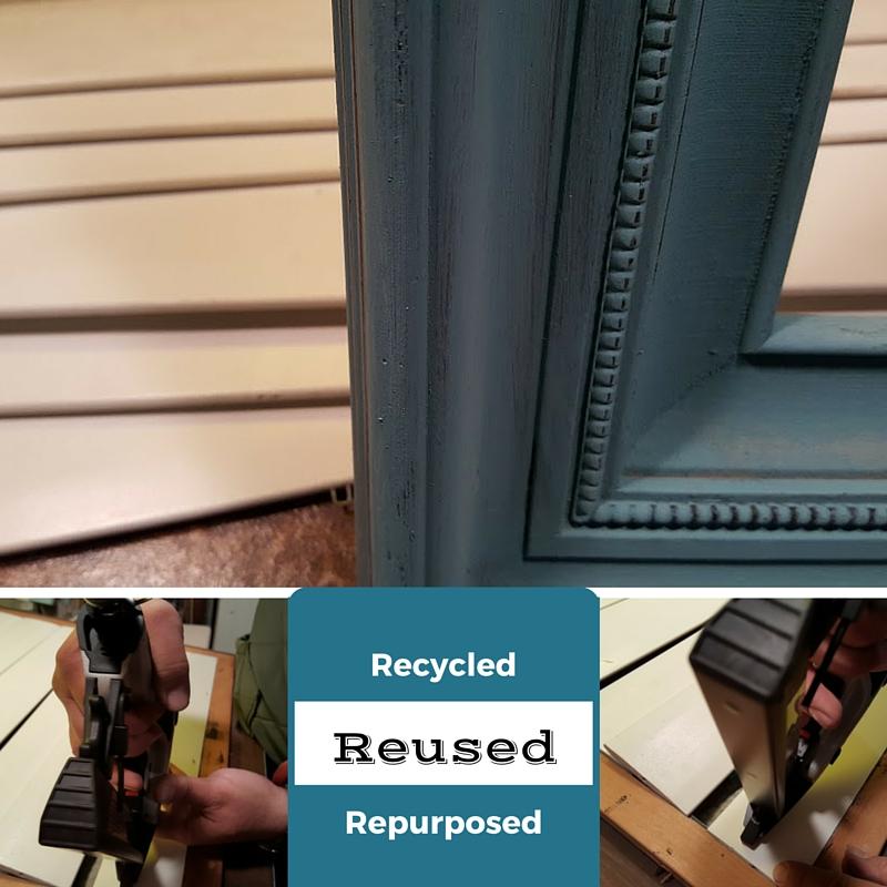 repurposed picture frame