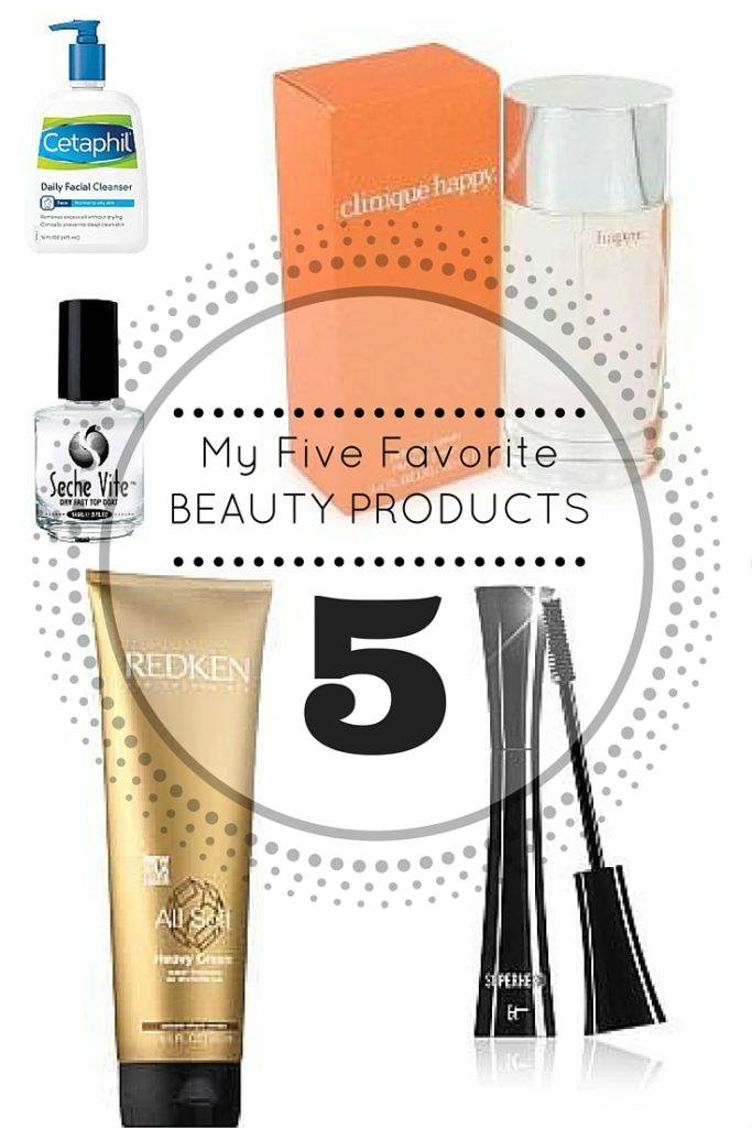 favorite beauty products pinterest collage