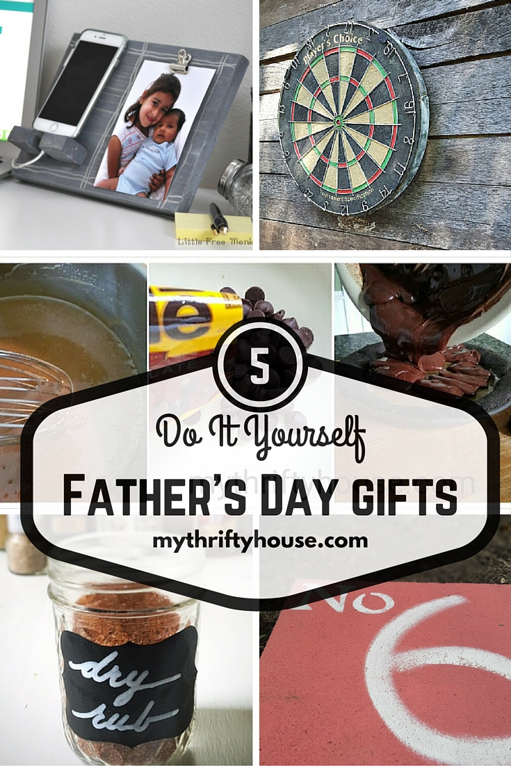 5 DIY Father's Day Gifts