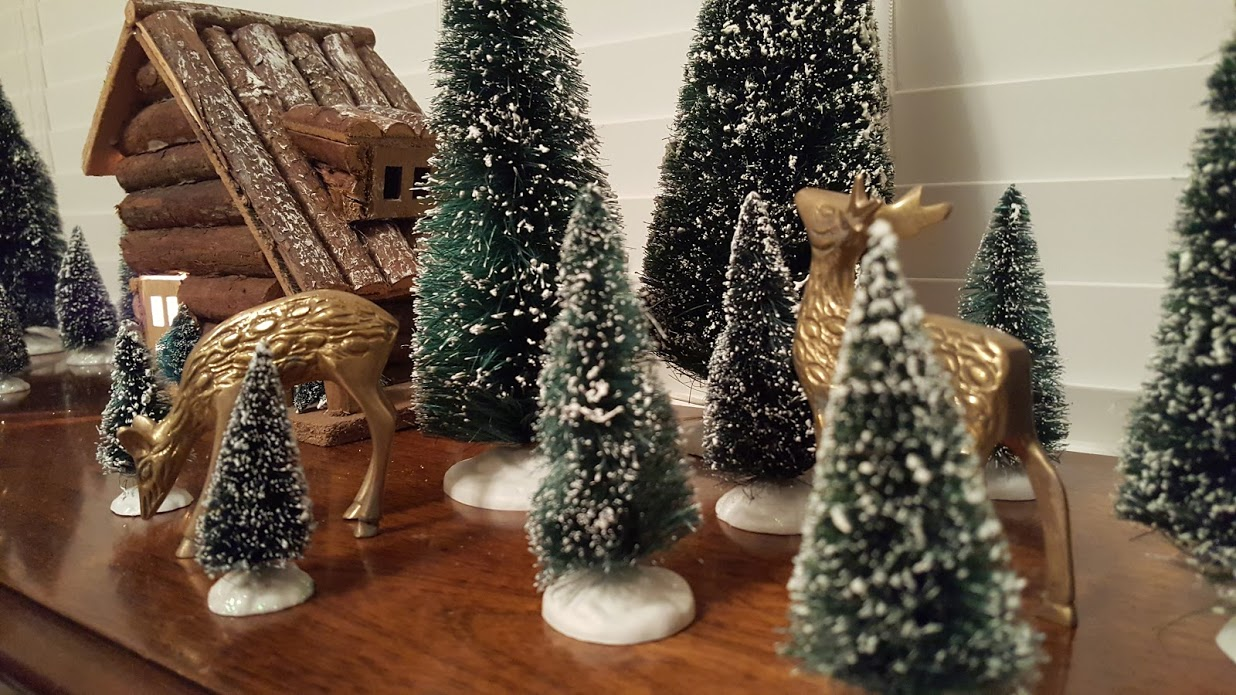 my-thrifty-house-christmas-house-tour-bottle-brush-tree-forest