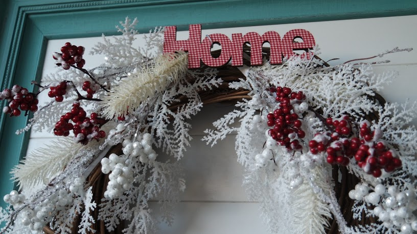 Upcycled Quick and Easy Winter Wreath