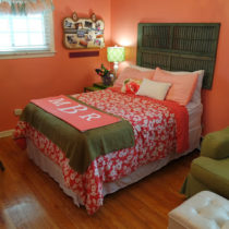 $100 teenage girl bedroom makeover