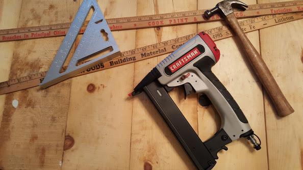 Assembling the wooden farmhouse table runner