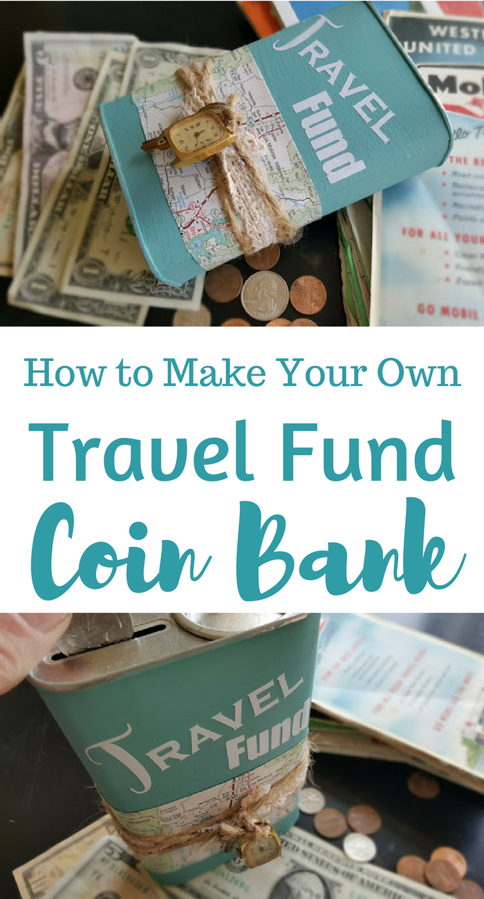 How to Make Your Own Travel Fund Coin Bank