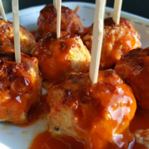 Whole30 buffalo chicken meatballs